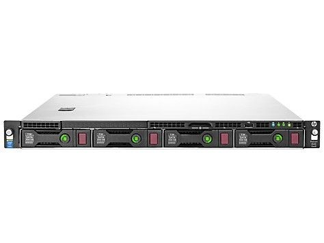 HP ProLiant DL60 Gen9 4LFF HP Rack E5-2603v4 1x16GB B140i DVDRW 1Gb 550W NHP 3-1-1
