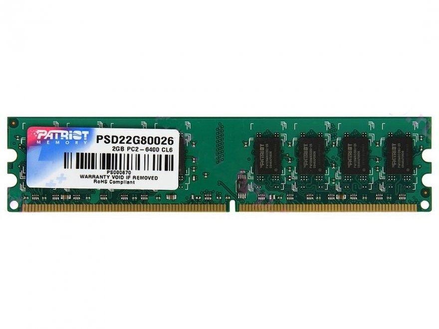 Patriot DDR2 2048MB 800MHz CL6