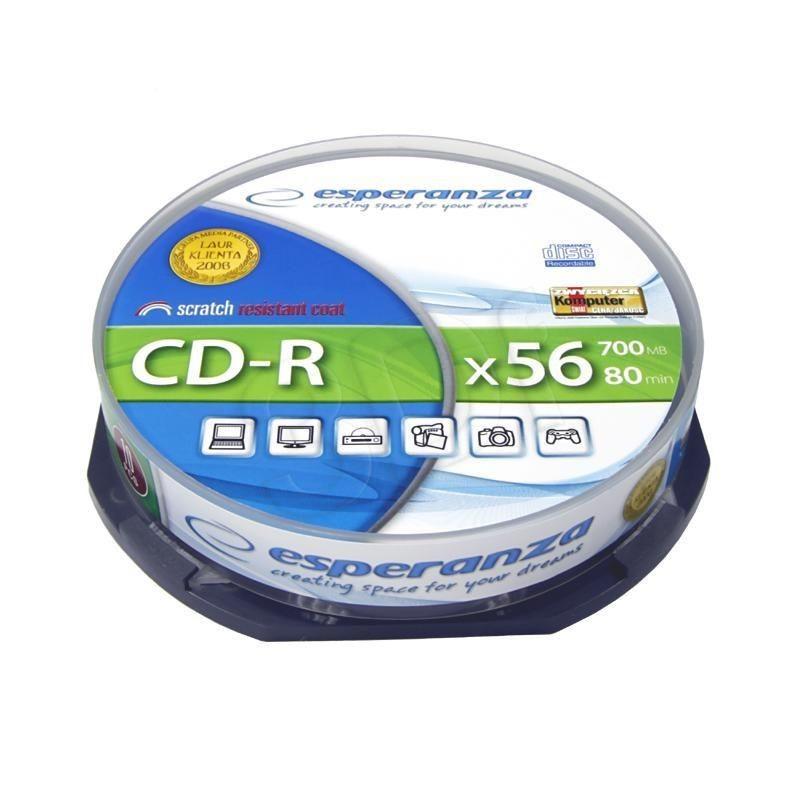 Esperanza CD-R Esperanza 2006 700MB 56x 10szt. cake