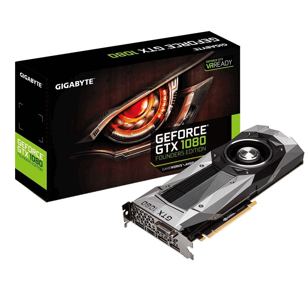Gigabyte GeForce GTX1080 8GB DDR5 PCI-E 256BIT DVI/HDMI/3DP BOX