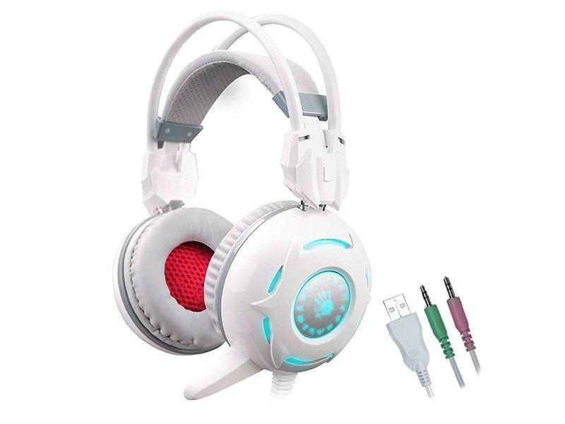A4 Tech Słuchawki Bloody G300 białe