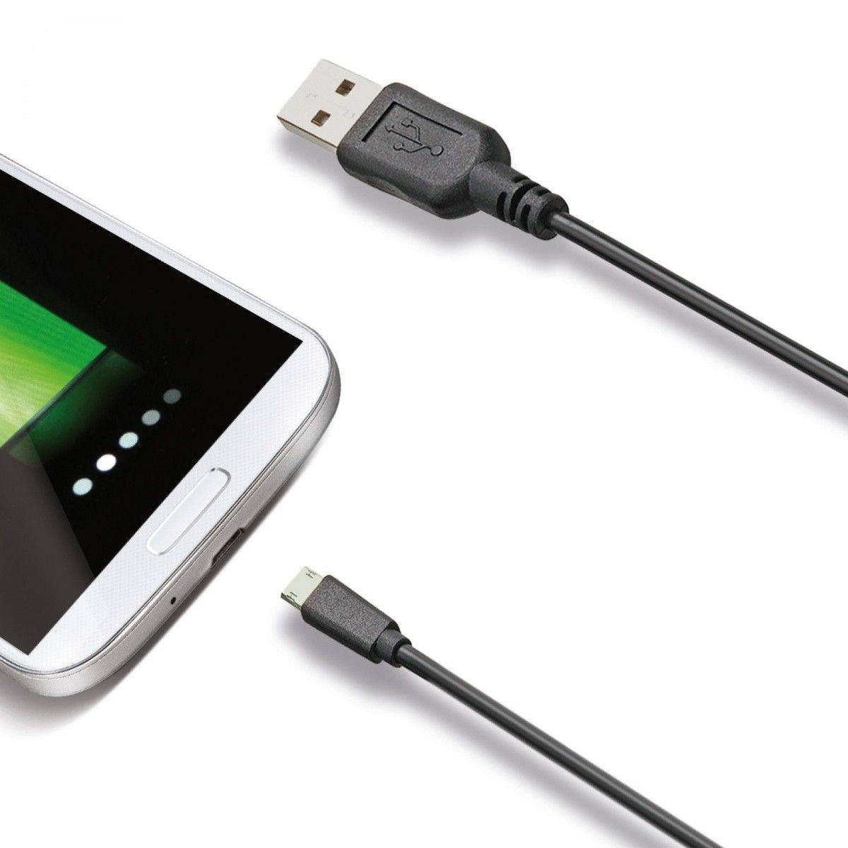 Celly Kabel MicroUSB Dwustronny