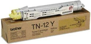 Brother Toner TN12Y yellow | 6 000str | HL-4200CN