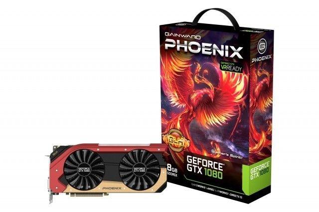 Gainward GeForce GTX 1080 Phoenix GS GLH, 8GB GDDR5X (256 Bit), HDMI, DVI, 3xDP