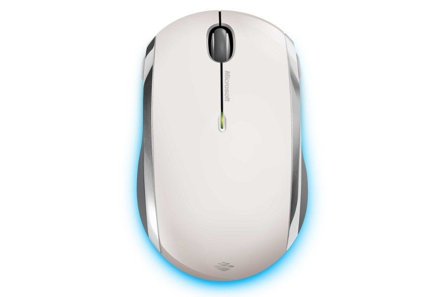 Microsoft Wireless Mobile Mouse 6000 BlueTrack White