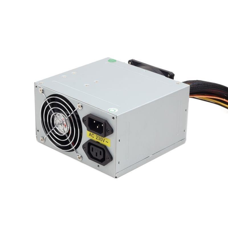 Gembird zasilacz komputerowy ATX 550W low noise dual fan BOX + kabel