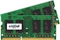 Crucial DDR3L 4GB/1600 (2*2GB) CL11 SODIMM 204pin