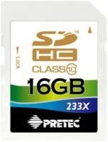 Pretec SecureDigital HC 16GB (class 10)