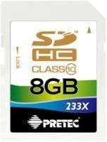 Pretec SecureDigital HC 8GB (class 10)