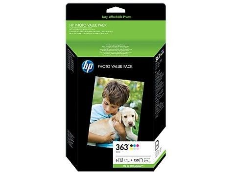 HP tusz 363 6-colour Photo Value Pack Vivera (6ml, Photosmart 8250, 3110/3210)