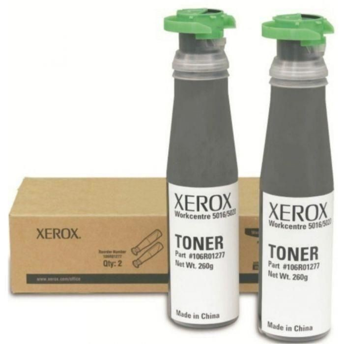 Xerox toner black 2-pack (12600str, WC 50XX Ruby)