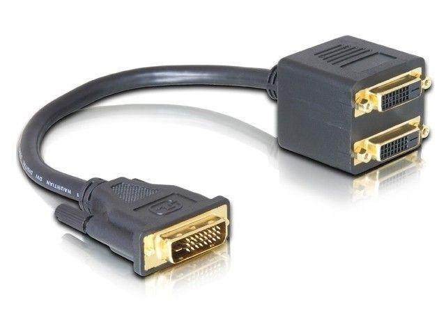 DeLOCK adapter DVI-D->2x DVI-D (24+1)(DVI-D)