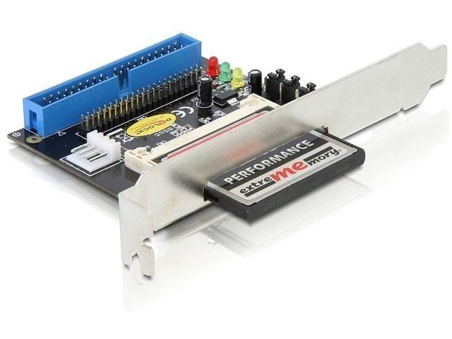 DeLOCK adapter IDE -> compact flash (na śledziu)