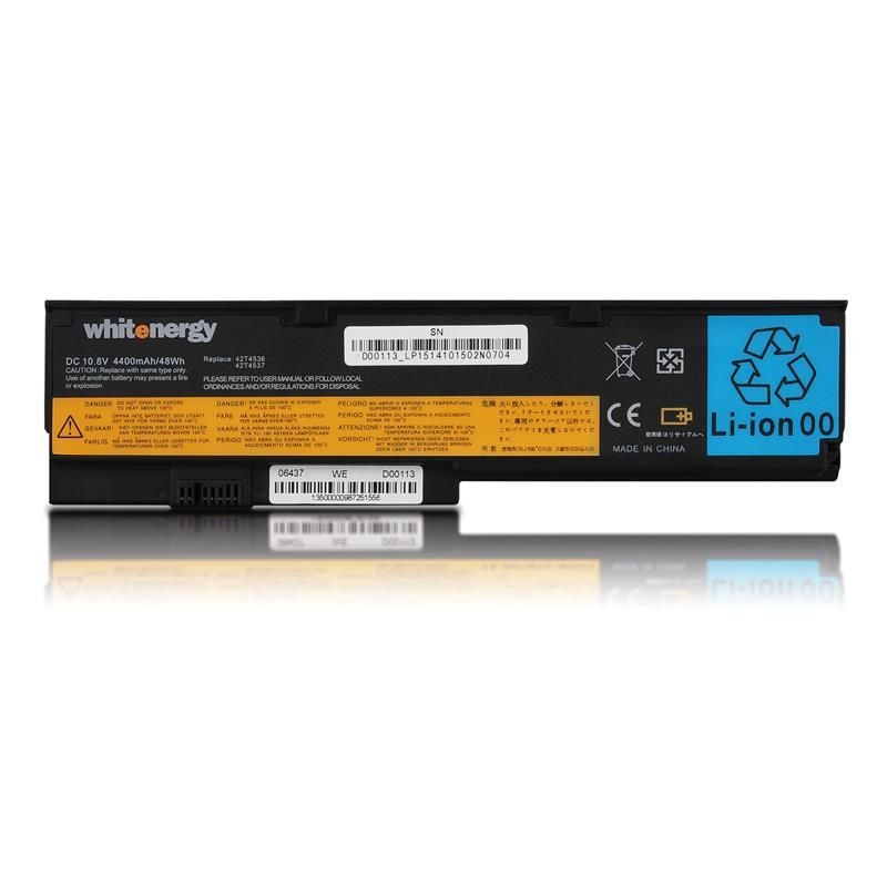 Whitenergy bateria do laptopa Lenovo ThinkPad X200 10.8V Li-Ion 4400mAh