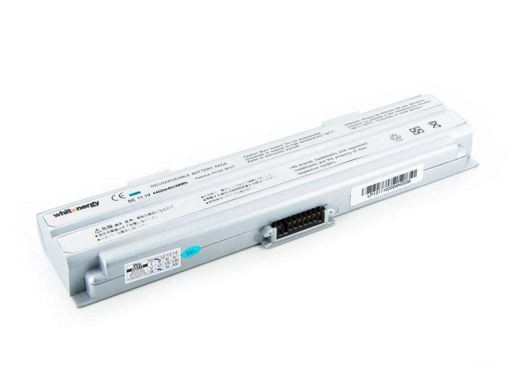 Whitenergy bateria do laptopa Sony Vaio BP2T 11.1V Li-Ion 4400mAh