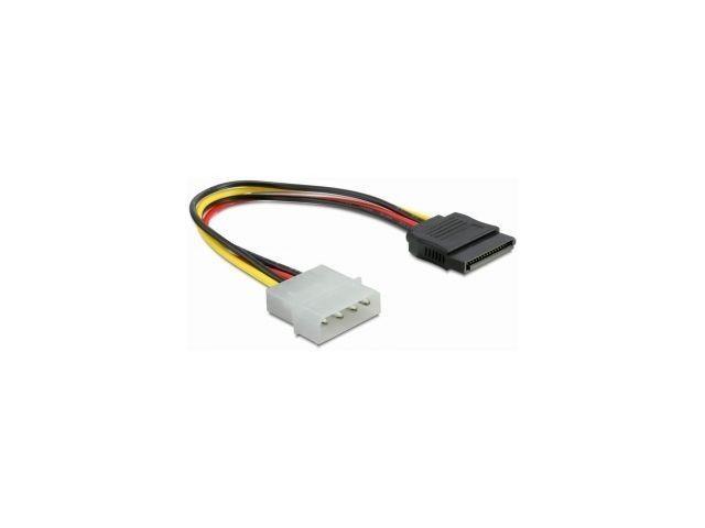 DeLOCK kabel do dysków Serial ATA zasilający 0,12M