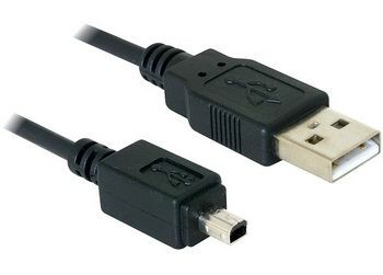 DeLOCK kabel USB mini 2.0 4 pin (Mitsumi) 1,5m