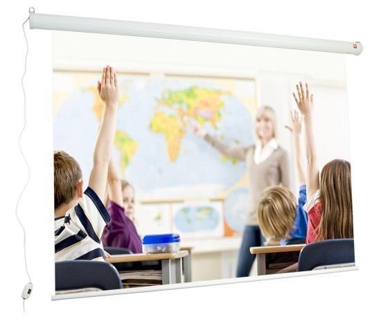 AVTek Video Education (ekran elektryczny, 180x135cm, MW, przekątna 225cm)