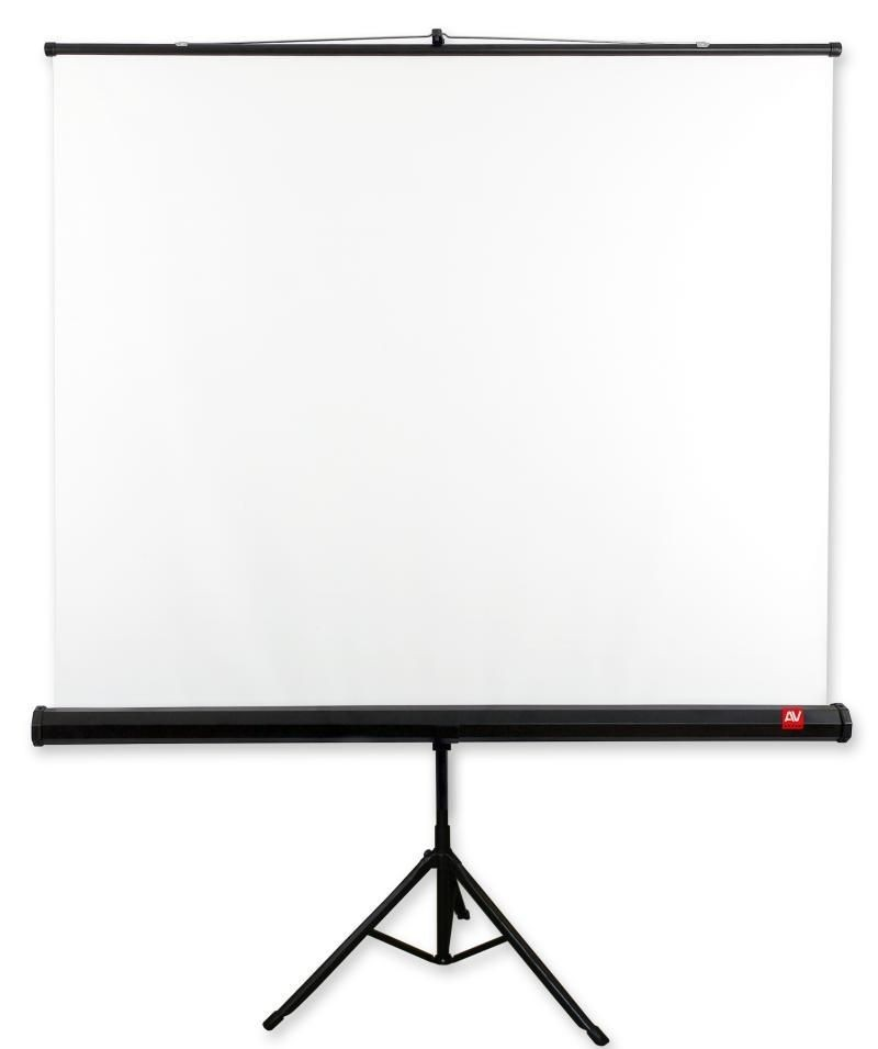 AVTek Ekran na statywie Tripod Standard 175x175 (1:1) Matt White 98''