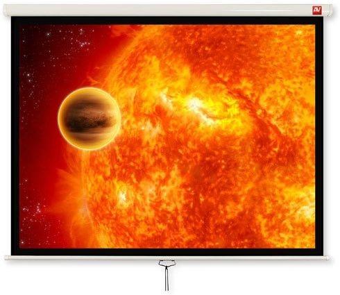 AVTek Ekran ścienny ręczny Video 280, 4:3, 270x202.5cm, powierzchnia biała, matowa