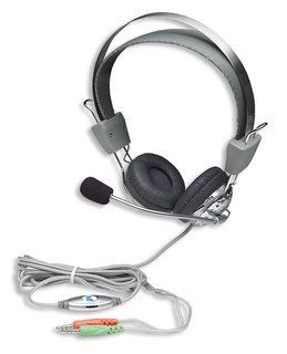 Manhattan słuchawki stereo z mikrofonem Standard