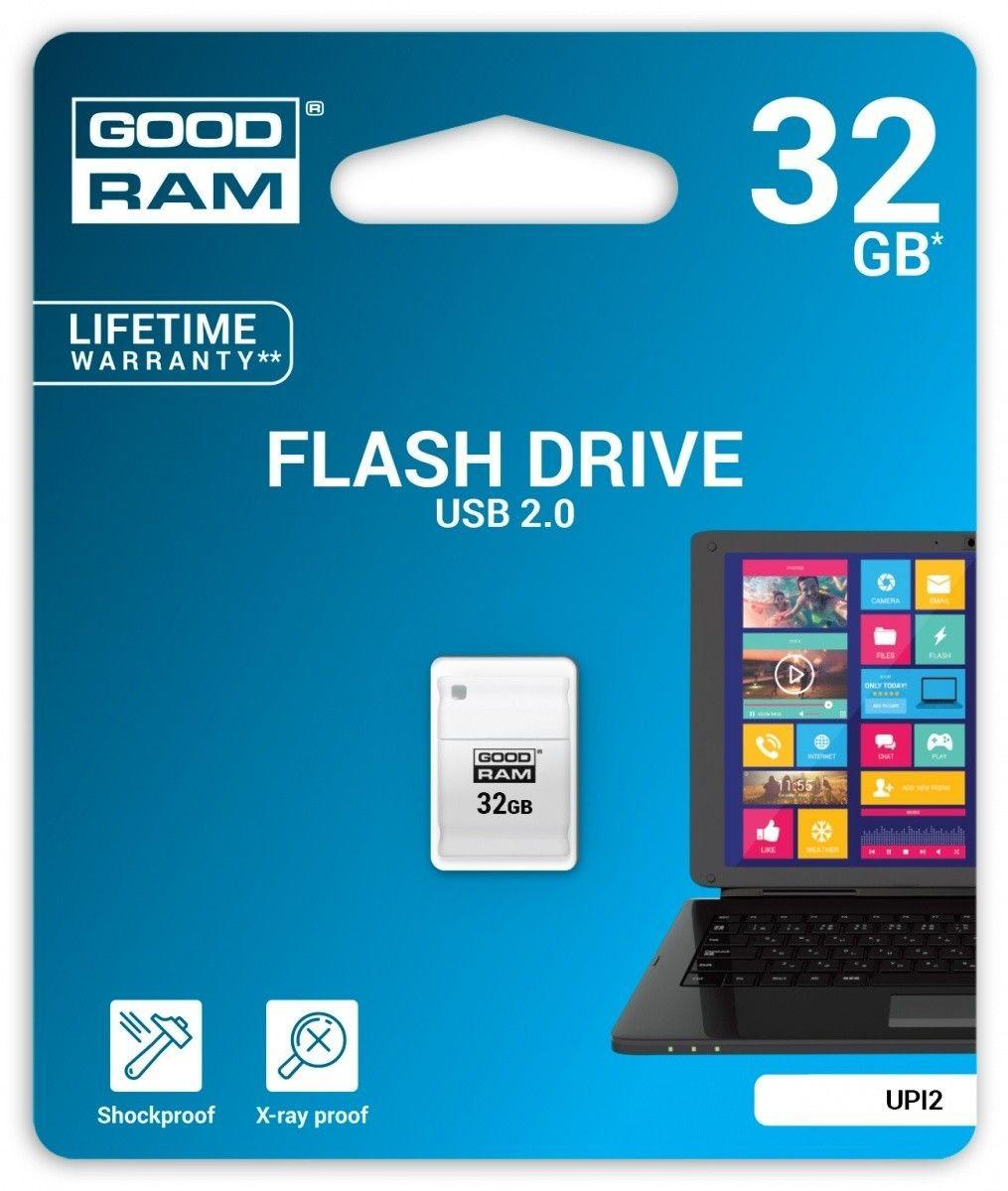 GoodRam PICCOLO 32GB USB2.0 White