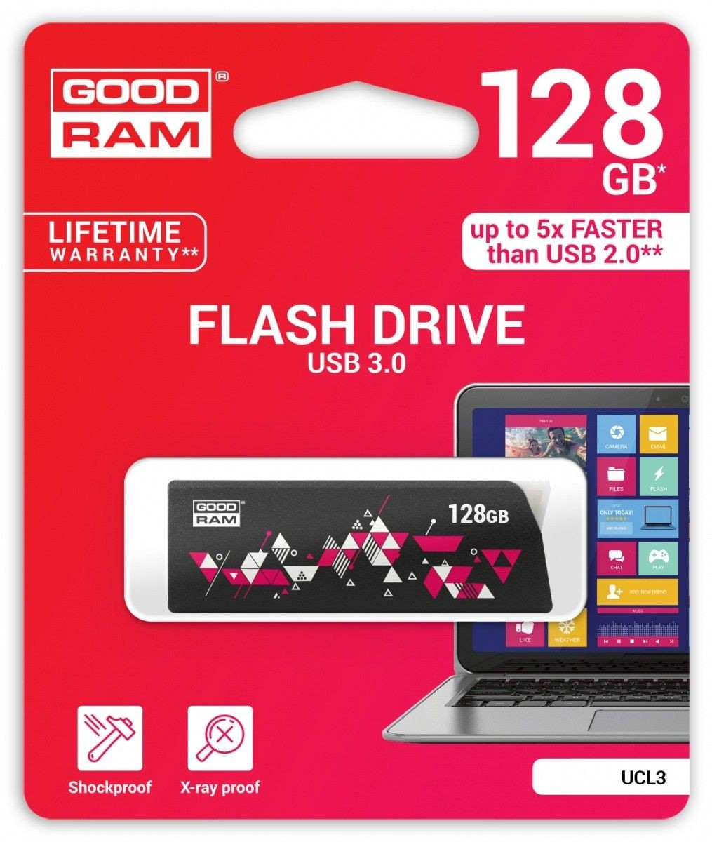 GoodRam CLICK 128GB Black USB3.0