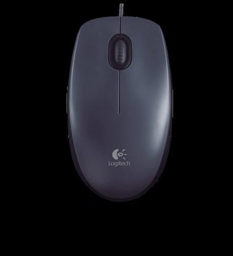 Logitech Mouse M100 Dark USB