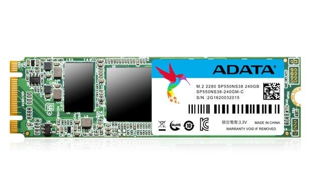 A-Data Adata SSD drive SP550 240GB M.2 up to 560/510MB/s