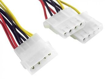 Gembird kabel rozdzielacz zasilania 2XHDD/1HDD