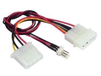 Gembird kabel rozdzielacz zasilania 2xHDD/3pin wentylator