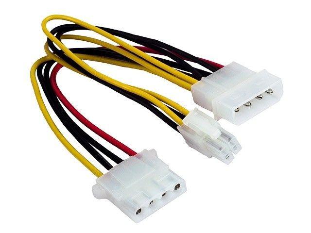 Gembird kabel rozdzielacz zasilania 2xHDD/4pin P4