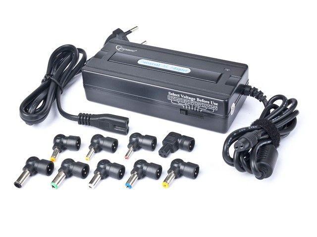 Gembird zmienno-napięciowy zasilacz uniwersalny AC do notebooka (sieciowy 230V, 90W)