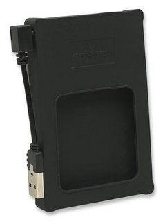 Manhattan Obudowa na dysk 2,5'' SATA zewnętrzna USB 2.0 czarna silikon