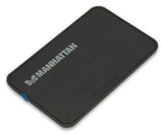 Manhattan obudowa zewnętrzna na dysk 2,5'' SATA (USB 2.0, czarna)