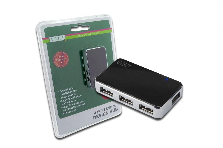 Digitus hub USB2.0 4-portowy