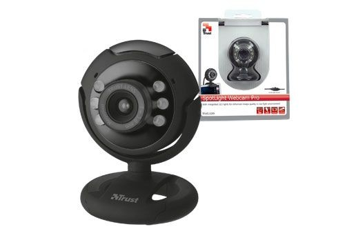 Trust SpotLight Webcam Pro (1,3 Mpix, USB 2.0, diody LED)