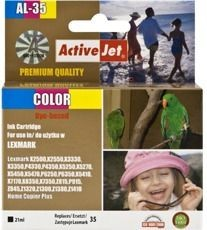 ActiveJet Tusz ActiveJet AL-35 | Color | 21 ml | Regenerowany | Lexmark 18C0035E