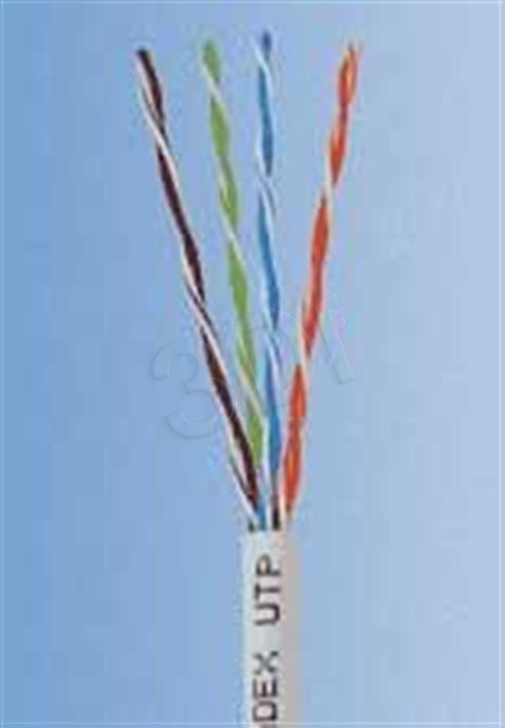 Madex Kabel UTP ( kat.5e 100m drut szary ULTRALINK )
