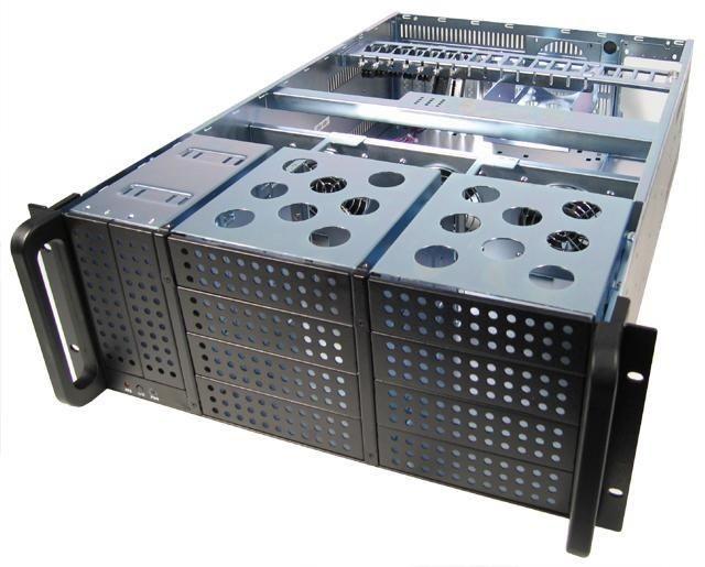 Chieftec obudowa IPC serii 4U - UNC-410F-B, 400W PSU (PSF-400A)
