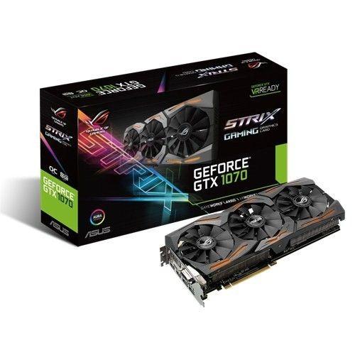 Asus GeForce GTX 1070 STRIX 8GB DDR5 256BIT DVI/HDMI/DP