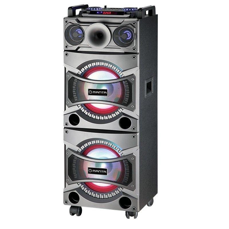 Manta Multimedia Głośnik Karaoke Speaker Faun (głośnik z bluetooth,USB,SD,radio) SPK5012
