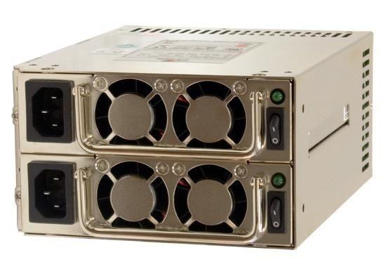 Chieftec zasilacz ATX redundantny MRW-6420P, 420W (2x420W), obud. PS-2, PFC
