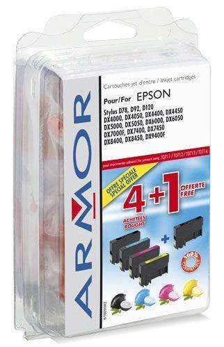 Armor tusz do Epson Stylus D78 2BK+1C+1M+1Y (T071x)