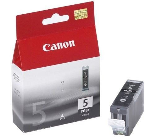 Canon tusz PGI-5BK black pigment BLISTER with security (26ml, iP3300/4200/4300)
