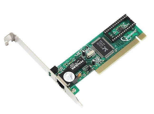 Gembird karta sieciowa PCI 10/100BaseTX (RJ45) BOX (chipset Realtek)
