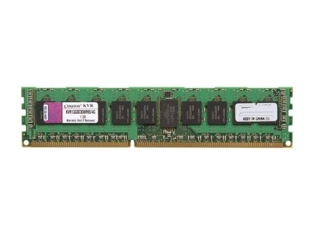 Kingston DDR3 4GB 1333MHz ECC Registered w/Parity CL9 Dual Rank x8 w/Therm Sensor