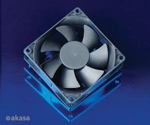 Akasa Black DFS802512M Box 80x25mm