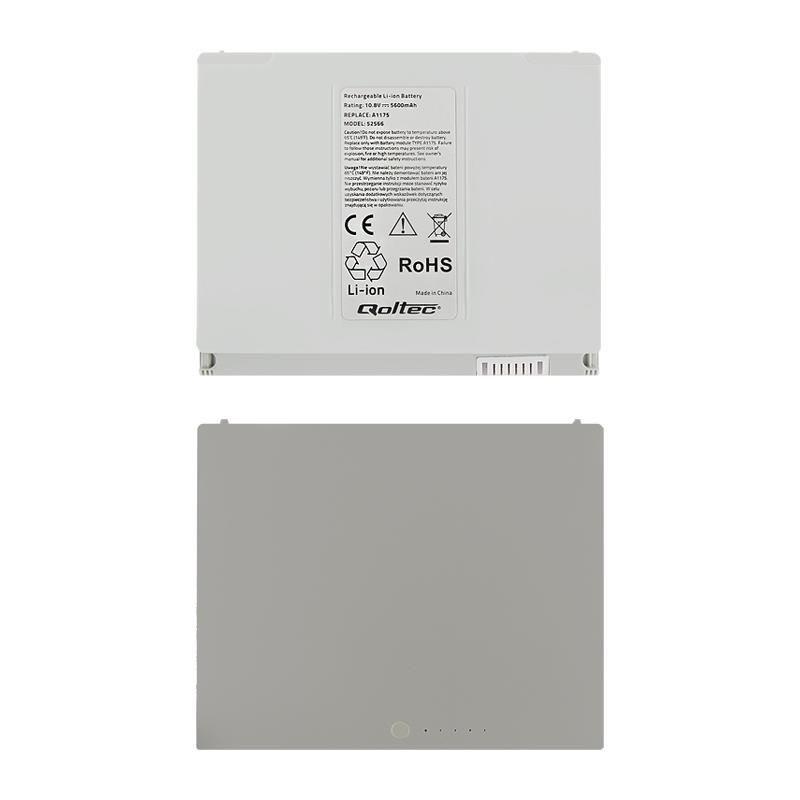 Qoltec BATERIA MACBOOK PRO 15/A1175 5600mAh/10.8V