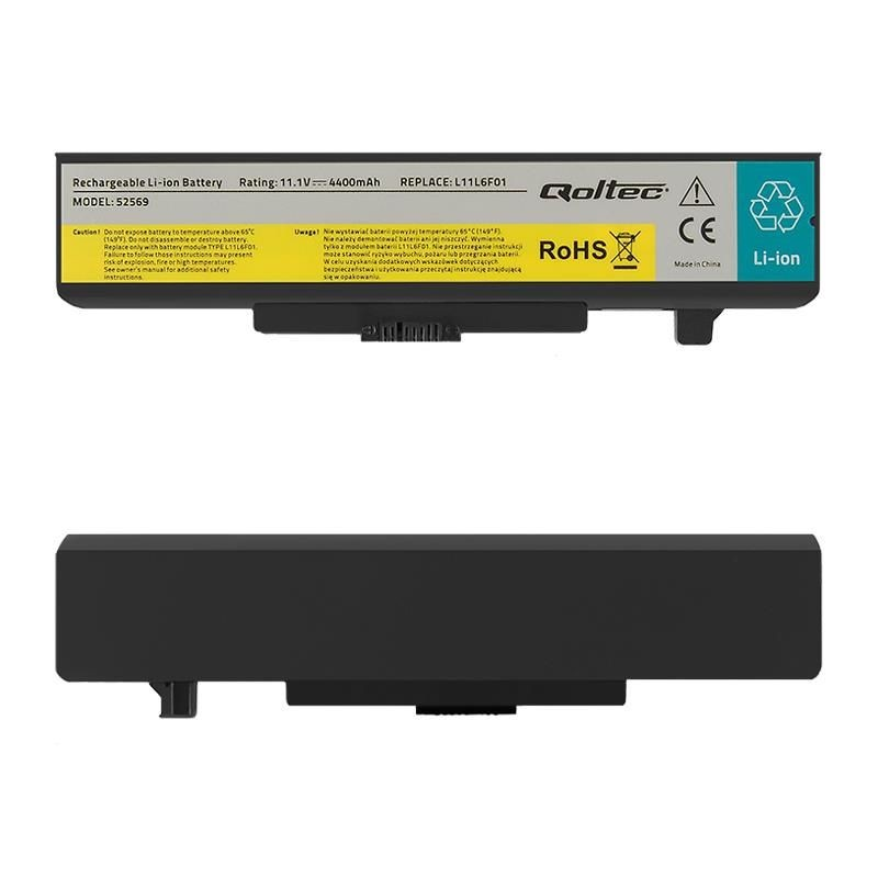 Qoltec Bateria do laptopa Lenovo Y480 G480 | 4400mAh | 11.1V